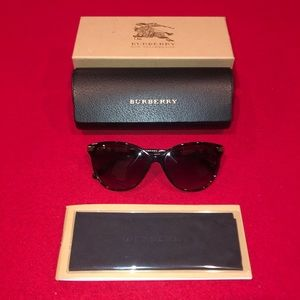 NEW Burberry Sunglasses Brown Tortoise 4216